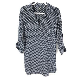 KUT FROM THE KLOTH Dress Silk Blend Tunic Size 4
